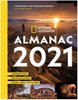 National Geographic Almanac 2021: Trending Topics - Big Ideas in Science - Photos, Maps, Facts & More 4052PB