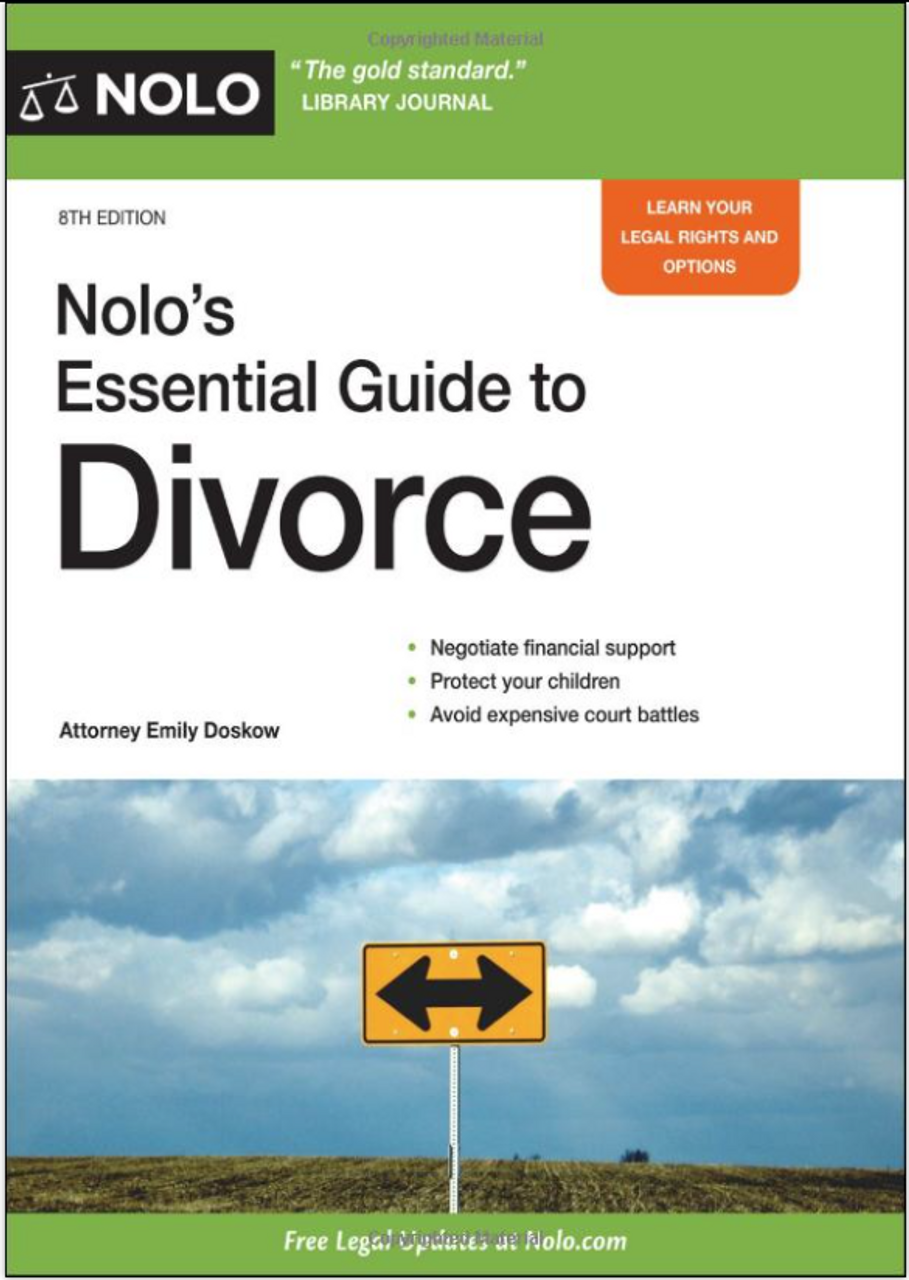 Nolo's Essential Guide to Divorce 4262PB