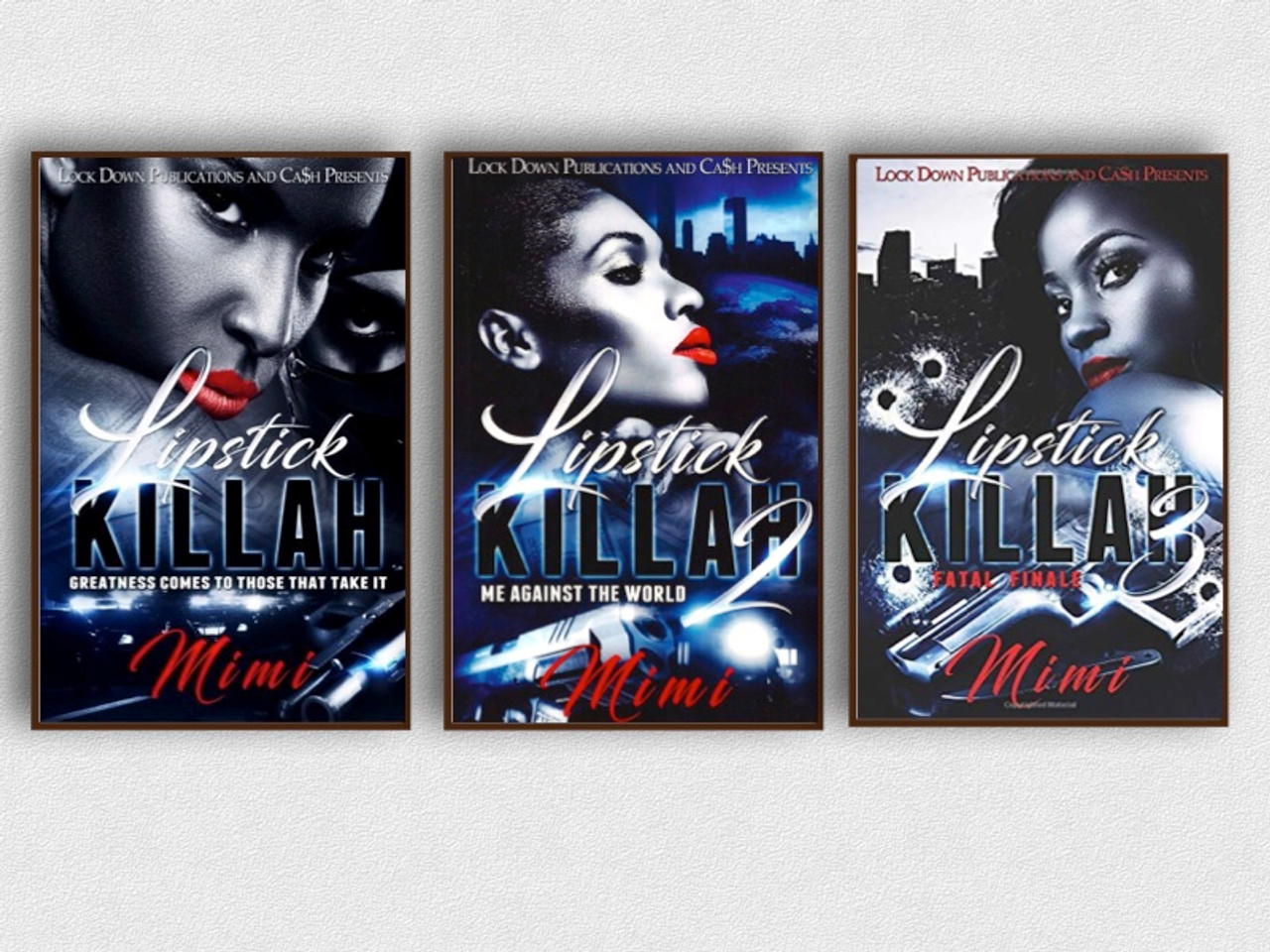 Lipstick Killah 1-3 Book Set