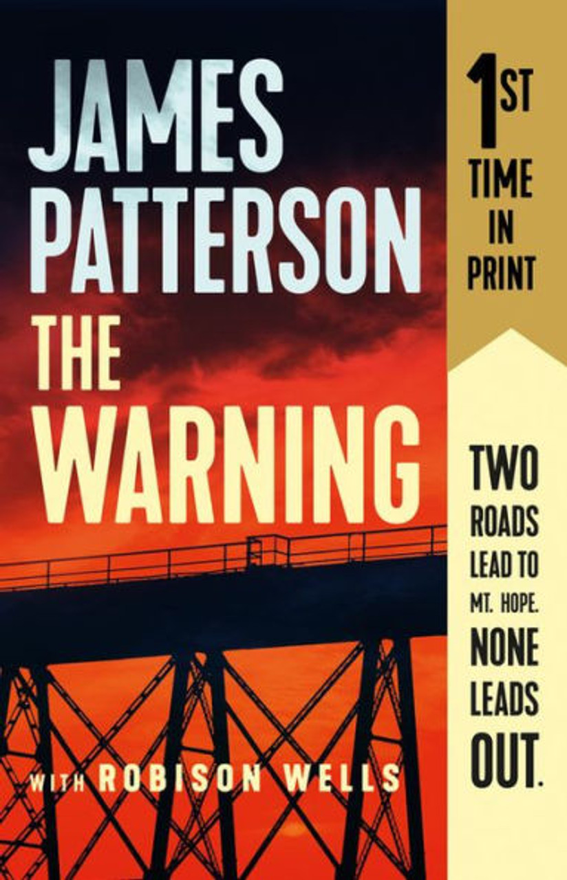 The Warning by James Patterson 3493PB