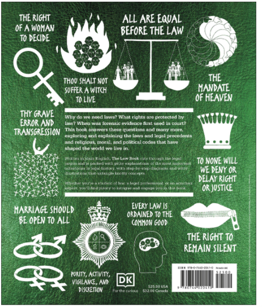 The Law Book: Big Ideas Simply Explained 4044HC (HARDCOVER)