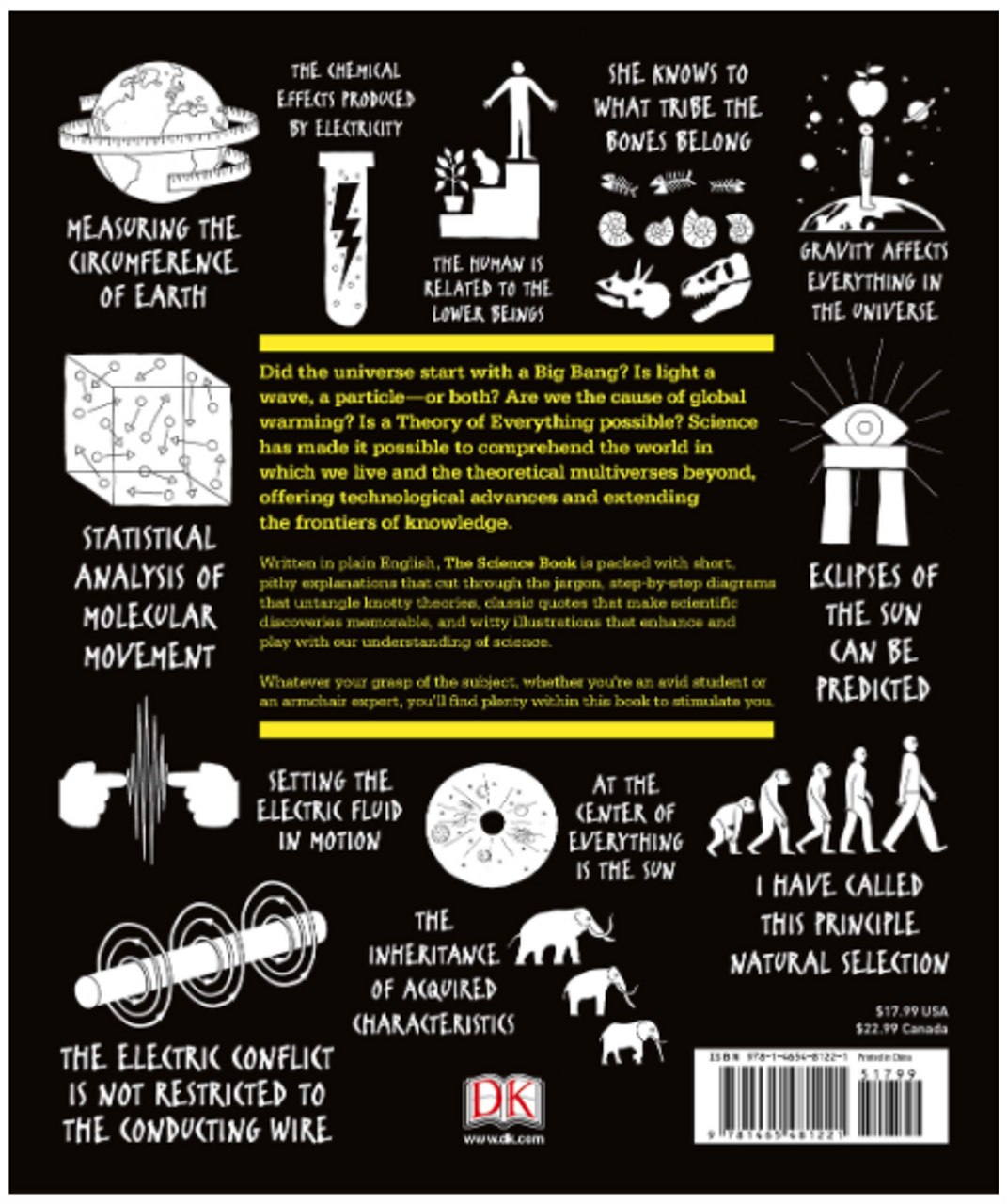 The Science Book: Big Ideas Simply Explained 4045PB