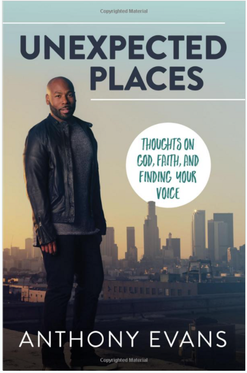 Unexpected Places: Thoughts on God, Faith, and Finding Your Voice4047PB