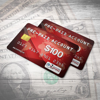 Pre-Paid Account for $100.00