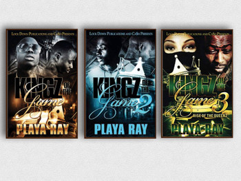 Kingz of the Game 1-3 Book Set