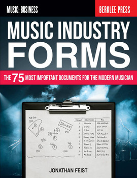Music Industry Forms by Jonathan Feist