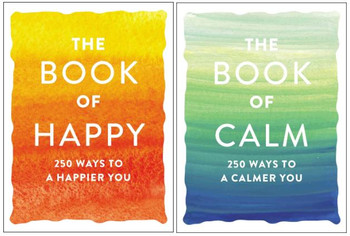 The Book Of Calm & The Book Of Happy Book Bundle