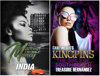 Married to the Money & Carl Weber's Kingpins: The Girls of South Beach (2) Book Bundle 4015PBB