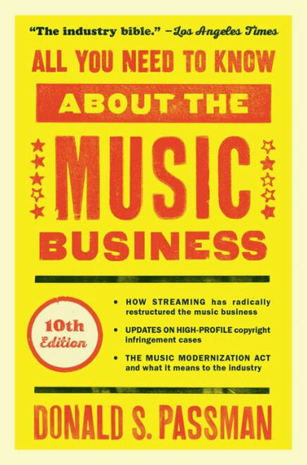 All You Need to Know About the Music Business 3403HC (HARDCOVER)