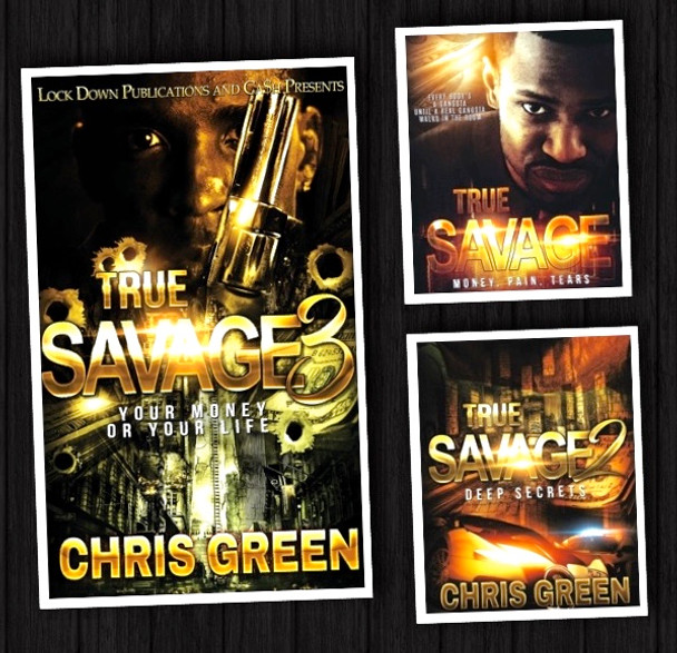 True Savage 1-3 Book Set