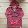 BOBCAYGEON IMPOSSIBLE ANCHOR STRIPPED LONG SLEEVE HOOD