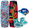 RONIX AUGUST GIRL'S WAKEBOARD WITH AUGUST BOOT PACKAGE + FREE ROPE (2020)