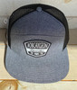 PUKKA BOBCAYGEON BLK OXFORD CHAMBRAY HAT