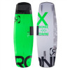 RONIX PARKS CAMBER ATR LIME WAKEBOARD BLANK (16)