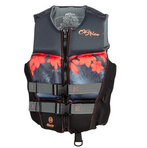 OBRIEN LADIES FLEX V-BACK NEOPRENE VESTS CCGA CORAL (2021)