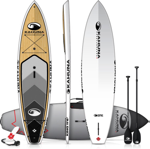 "KAHUNA EPIC KING 11'6"" SUP PKG W/PADDLE, BAG AND LEASH (2021)"