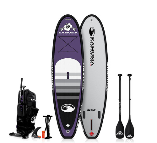 "KAHUNA 10'6"" iSUP SISTA INFLATIBLE SUP W/CARBON PADDLE + BAG + PUMP (2021)"
