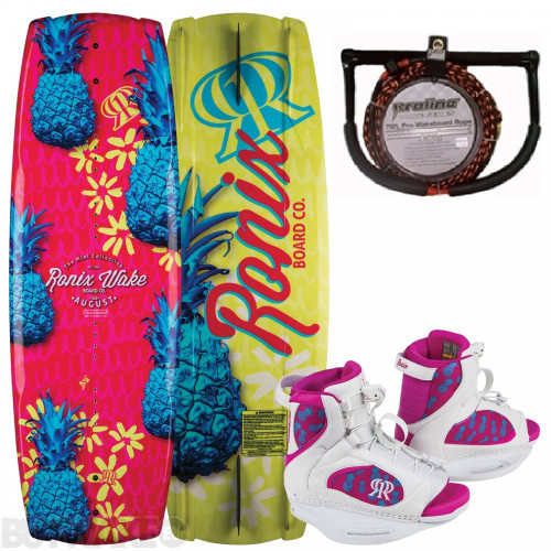 RONIX AUGUST GIRLS WAKEBOARD PACKAGE (2018)