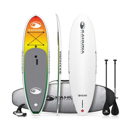 KAHUNA ALOHA TEN TWO SUP PKG W/PADDLE, BAG AND LEASH (2019)