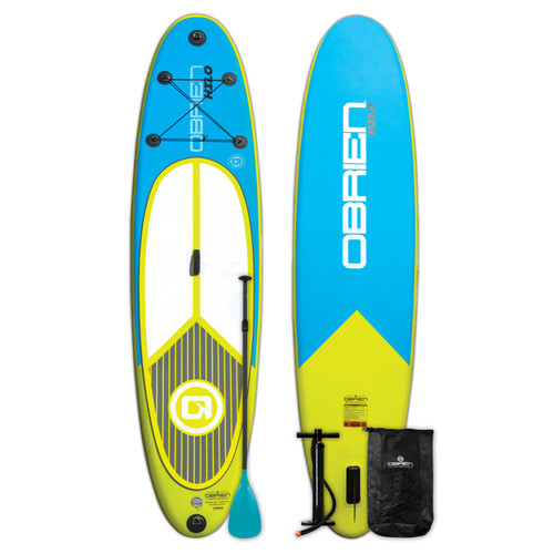 OBRIEN HILO INFLATABLE STAND UP PADDLEBOARD WITH PADDLE (2019)