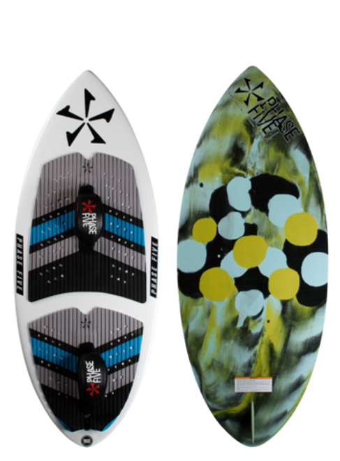 PHASE FIVE RATCHET WAKESURFER - WITH FOOT STRAPS (2019)