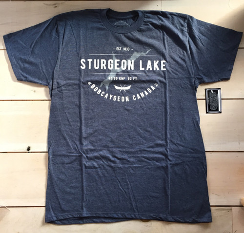 LAKE LIFE STURGEON LAKE T-SHIRT UNISEX