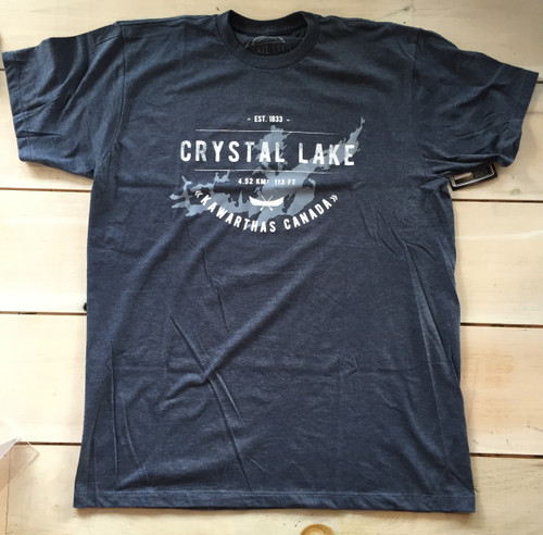 LAKE LIFE CRYSTAL LAKE T-SHIRT UNISEX
