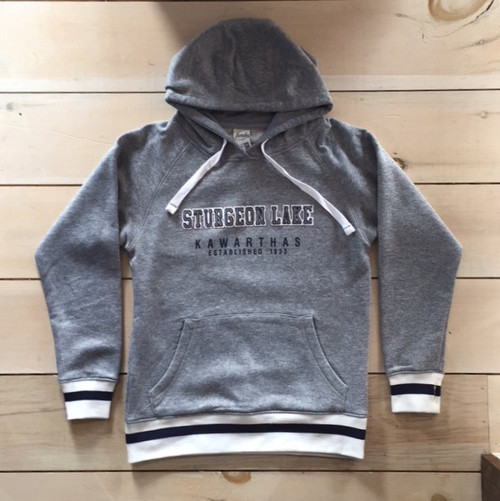 LAKE LIFE STURGEON LAKE SOCK FLEECE HOODIE UNISEX