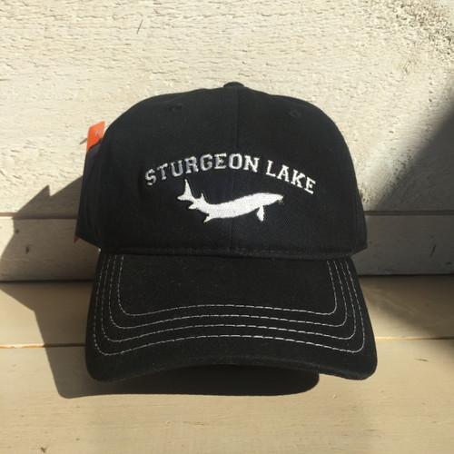 LAKE LIFE STURGEON LAKE CURVED BRIM SNAP BACK HAT
