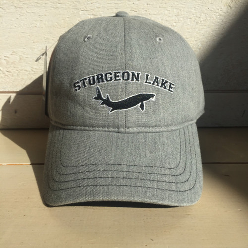 LAKE LIFE STURGEON LAKE CURVED BRIM SNAP BACK HAT