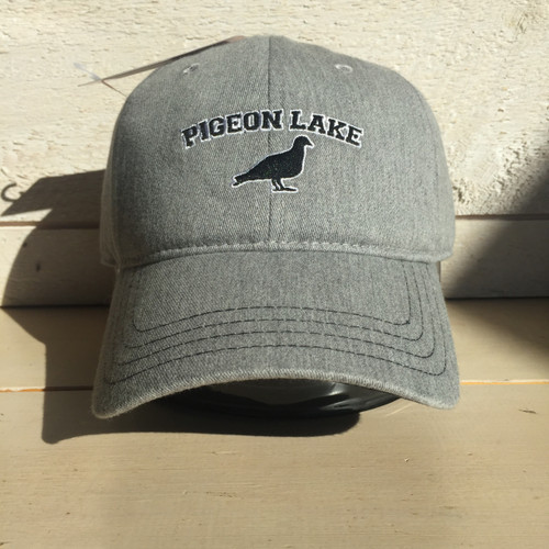 LAKE LIFE PIGEON LAKE CURVED BRIM ADJUSTABLE HAT