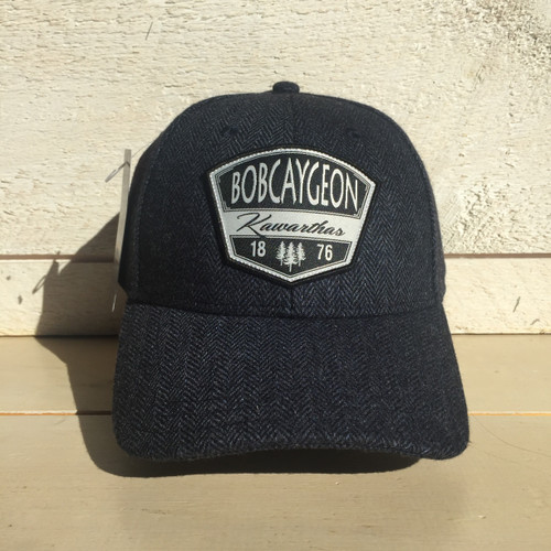 BOBCAYGEON KAWARTHAS CURVED BRIM SNAP BACK HAT