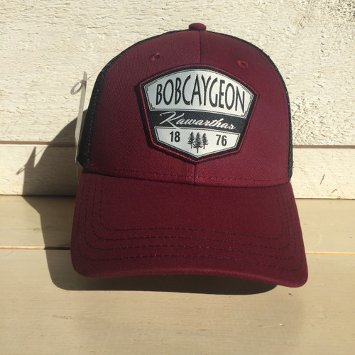 BOBCAYGEON KAWARTHAS  OXFORD CHAMBRAY SNAP BACK HAT