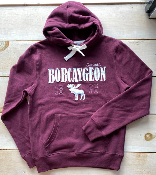BOBCAYGEON SOFT HOODED SWEATSHIRT UNISEX
