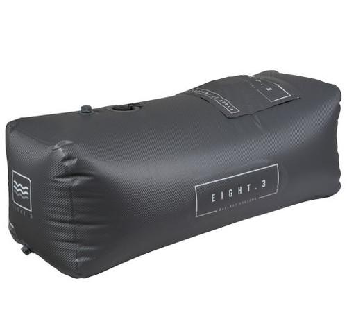 EIGHT.3 TELESCOPE 1100LB BALLAST BAG SMOKE CARBON/WHITE (20)
