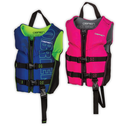 OBRIEN NEOPRENE VEST CHILD 33-55 LBS CCGA (2021)