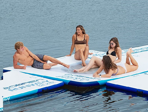 OBRIEN PARTY PIT 10' X 10' RIGID INFLATABLE WITH MESH CENTER (2020)