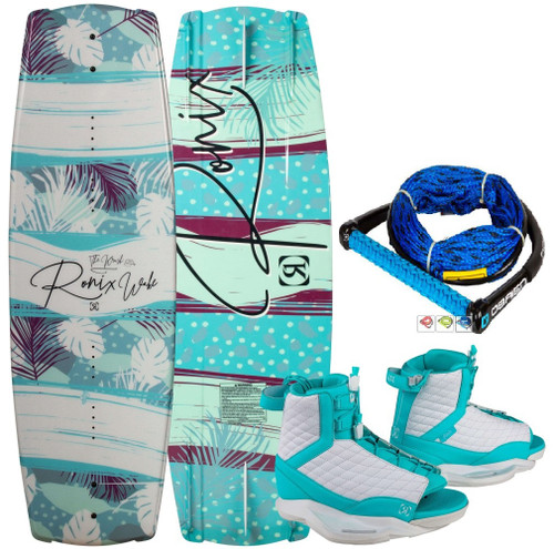 RONIX KRUSH WAKEBOARD WITH RONIX LUXE BOOTS PACKAGE + FREE ROPE (2020)