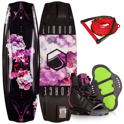 LIQUID FORCE ANGEL + PLUSH BOOTS WITH FREE ROPE PACKAGE INCL. (2021)