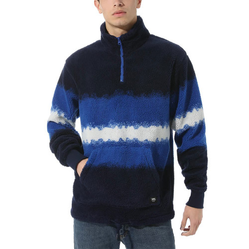 VANS MENS COZY SHERPA QUARTER ZIP