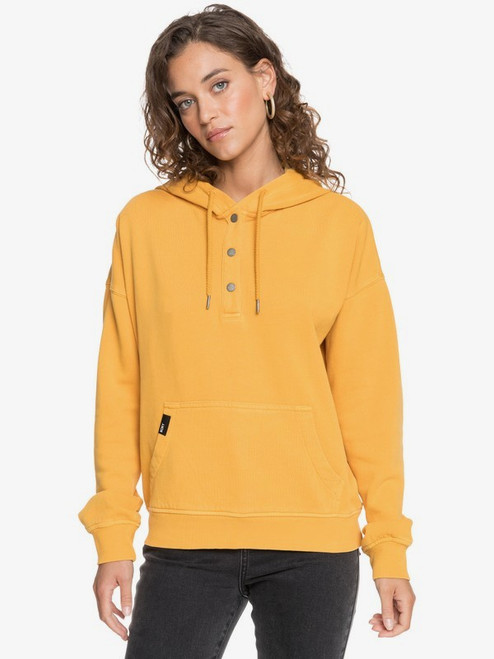 ROXY WOMENS GIRLS WHO SLIDE HOODIE