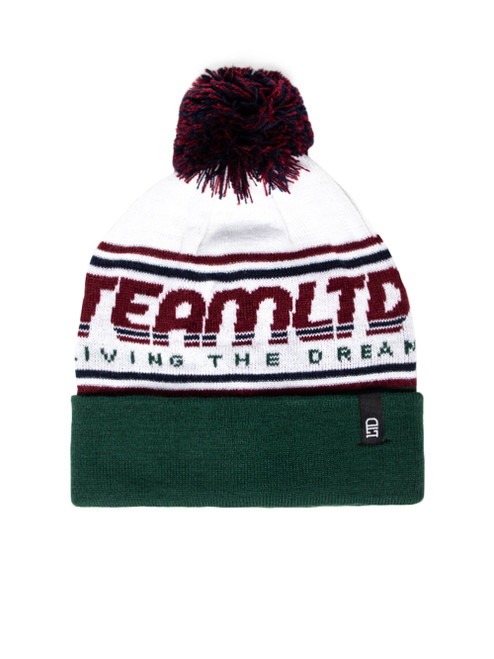 TEAM LTD. JACQUARD POM TOQUE