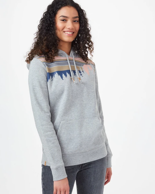 TEN TREE WOMENS RETRO JUNIPER CLASSIC  HOODIE
