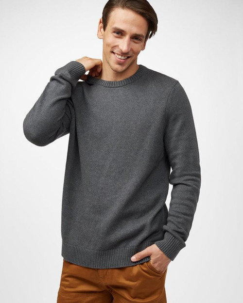 TEN TREE MENS HIGHLINE COTTON CREW SWEATER