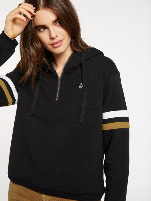 VOLCOM WOMENS COLOR CODED HOODIE