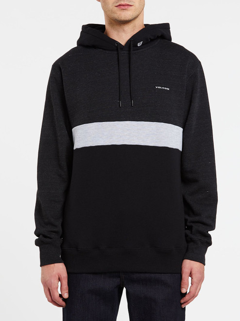 VOLCOM MENS SINGLE STONE DIVISION PULLOVER HOODIE