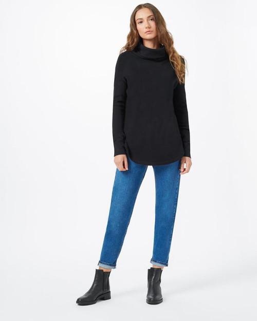 TEN TREE WOMEN'S TREEWAFFLE TURTLENECK LONGSLEEVE