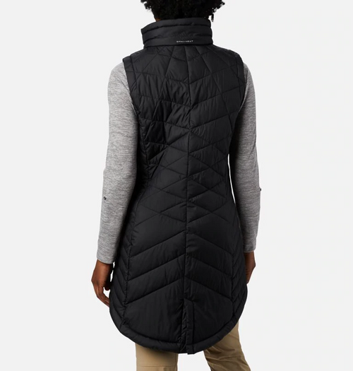 COLUMBIA WOMENS HEAVENLY LONG VEST
