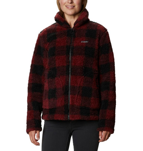 COLUMBIA WOMEN'S WINTER PASS SHERPA FULL ZIP