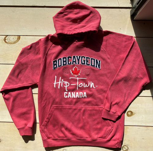 HIP TOWN PIGMENT DYED UNISEX HOODY